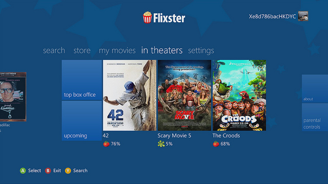 Flixster-Xbox-theaters