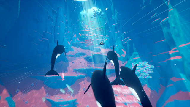 Abzu - Swimming Whales