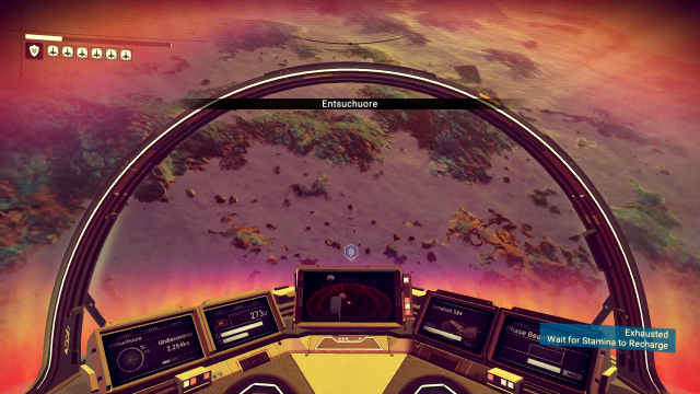 No Man's Sky - Flying