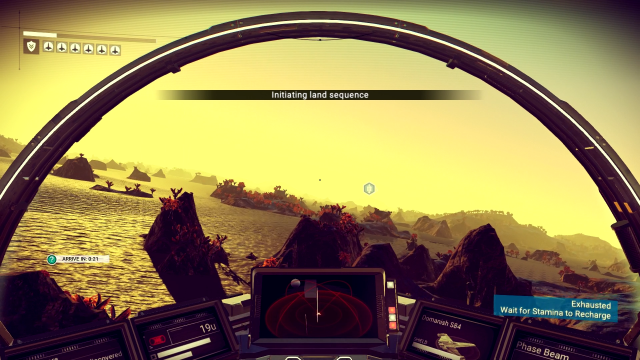 No Man's Sky - Landing